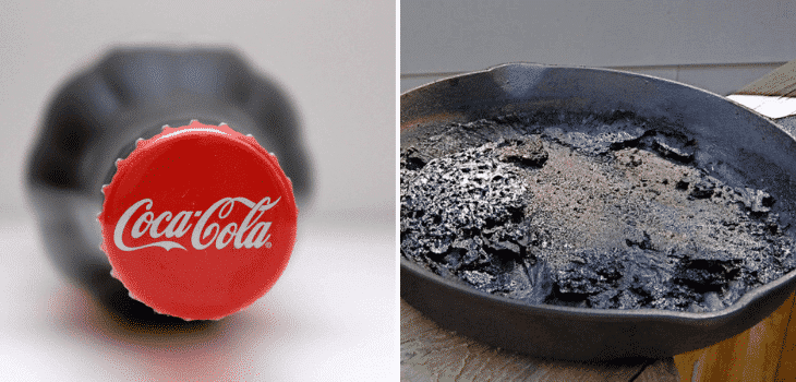 coca-cola-for-cleaning-skillet