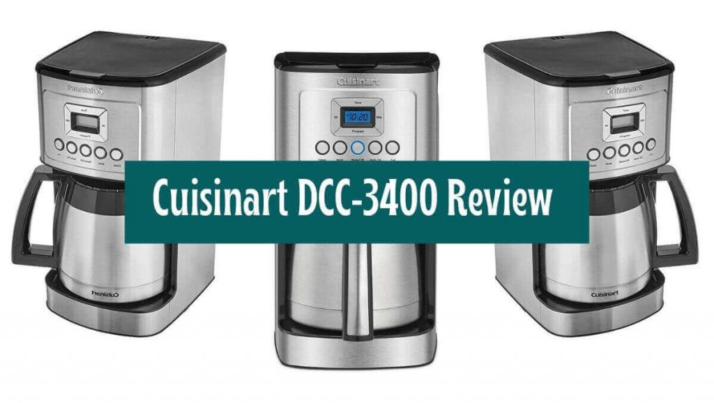 Cuisinart-DCC-3400-Coffee-Maker with-Grinder-Review